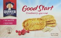 Quaker Good Start Cranberry Biscuits 45 g x 6