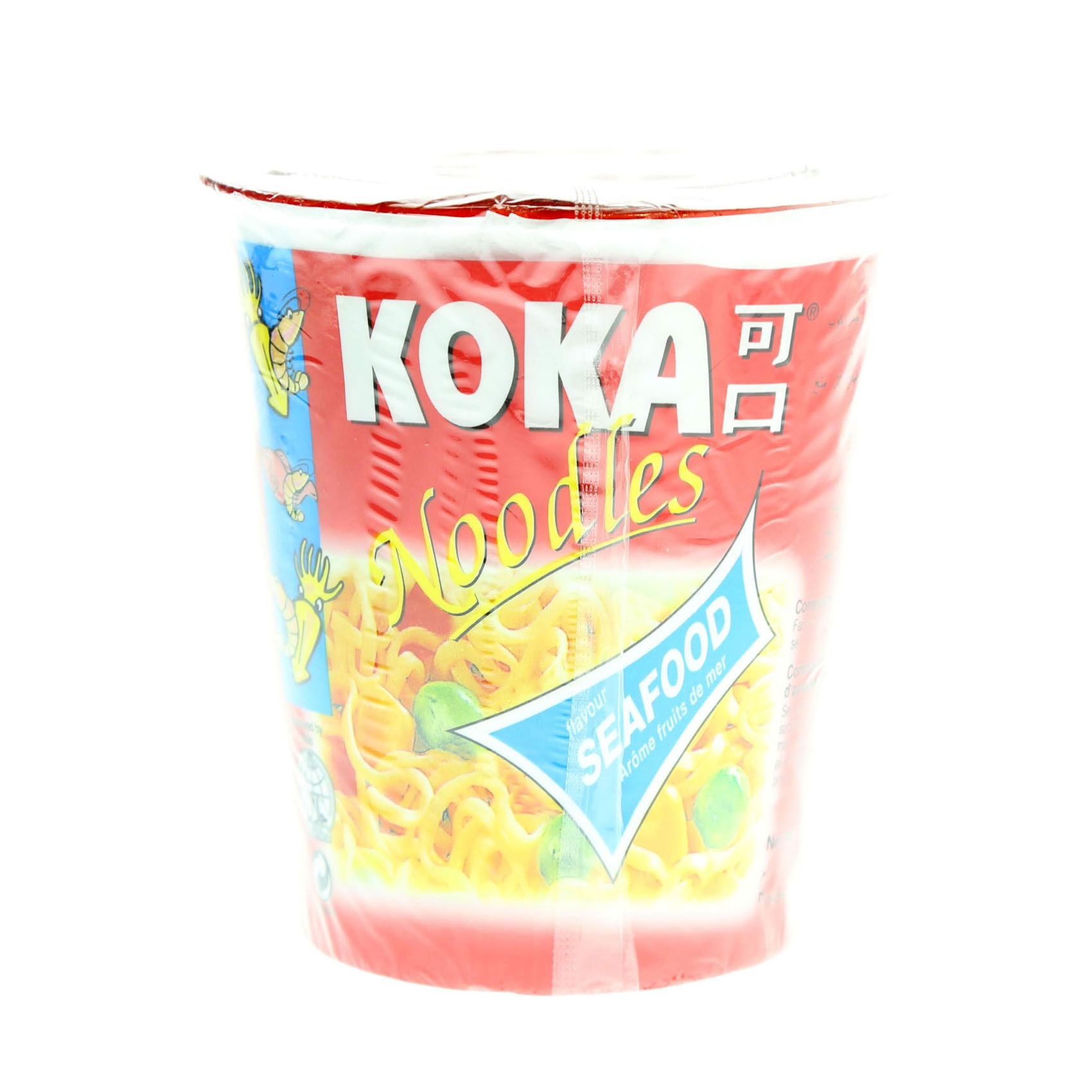 KOKA CUP NOODLES SEAFOOD 70GR