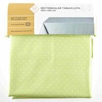 TEX Table Cloth 140x220  Light Green