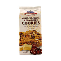 Merba Cookies White Chocolate And Cranberry 200GR