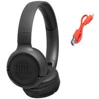 JBL Bluetooth Headphone Tune T500BT Black