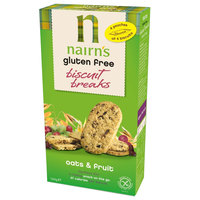 Nairn's Gluten Free Biscuits Breaks Oats & Fruit 160 g