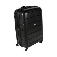 ترافل هاوس حقيبة سفر خامة صلبة من البولي بروبلين مقاس 28 إنش لون أسود