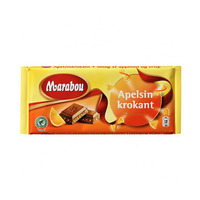 Marabou Milk Chocolate With Orange 200GR
