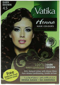 Vatika Henna Colouring Powder Dark Brown No.4.5
