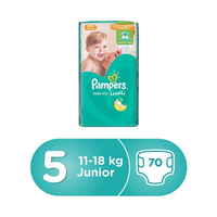 Pampers Diapers Active Baby Mega Box Junior Size 5 70 Diapers
