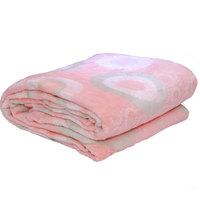 3D Super Soft Flannel Blanket Double Peach