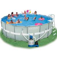Intex Ultra Frame Round Pool With Swimming Pool (488X122cm)