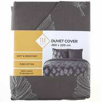 TEX Quilt Cover King Taupe
