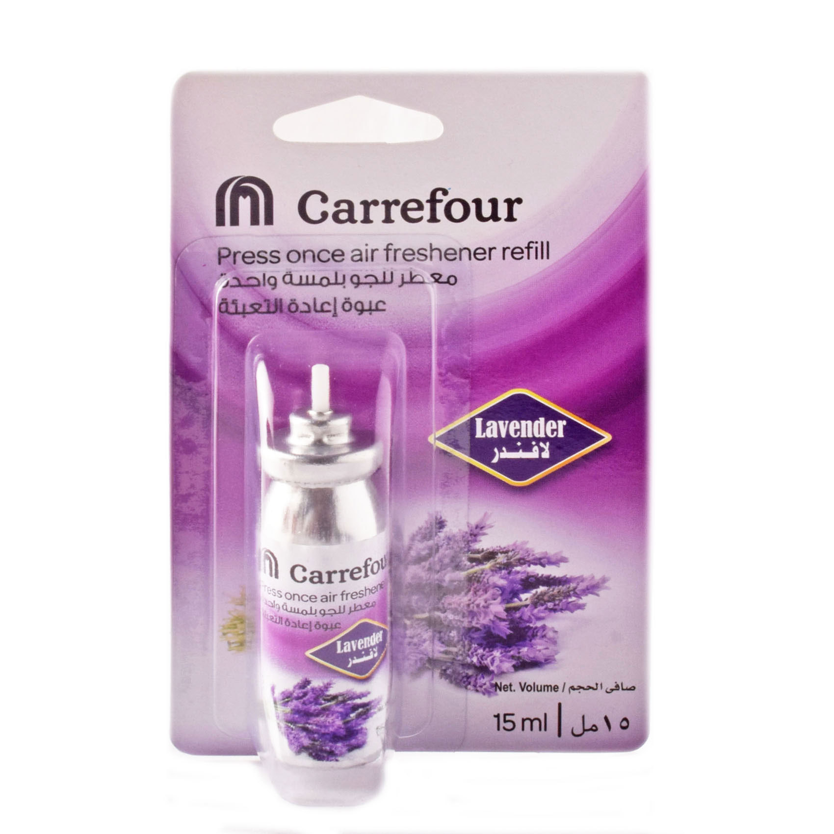 CRF PRESS ONCE LAVENDER REFILL 15ML