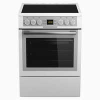 Blomberg 50X50 Cm Gas Cooker HKN-9330A White