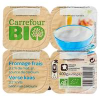 Carrefour Bio Fresh Yogurt 100gx4