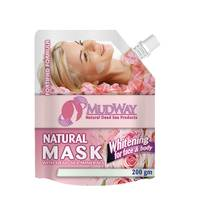 Mudway Mud Mask For Face And Body With Whitening 200 Gram