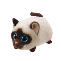 TY Teeny Tys Kimi - Siamese Cat Plush