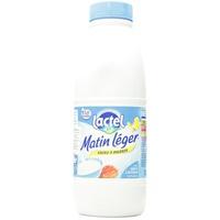 Lactel Matin L'Eger Semi-Skimmed Cow's Milk 1L