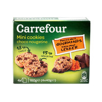 Carrefour Mini Nougatine Cookie 160g