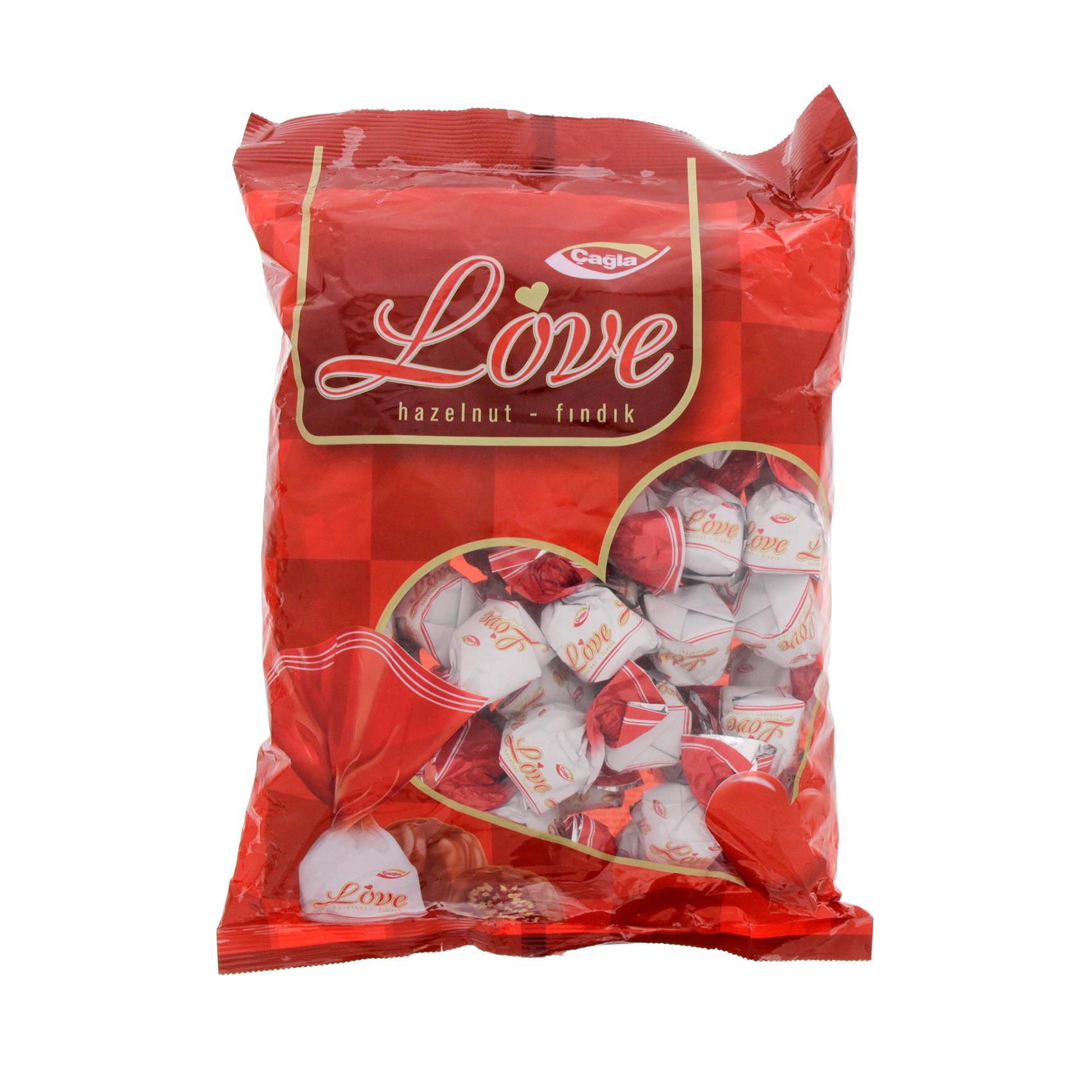 CAGLA LOVE HAZELNUT CHOCO 1KG