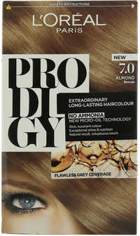 L'OREAL Prodigy Hair Colour Extraordinary Long-Lasting Almond Blonde No.7.0