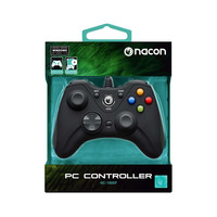 Nacon Wired Gaming Controller For PC PCGC-100XF Black