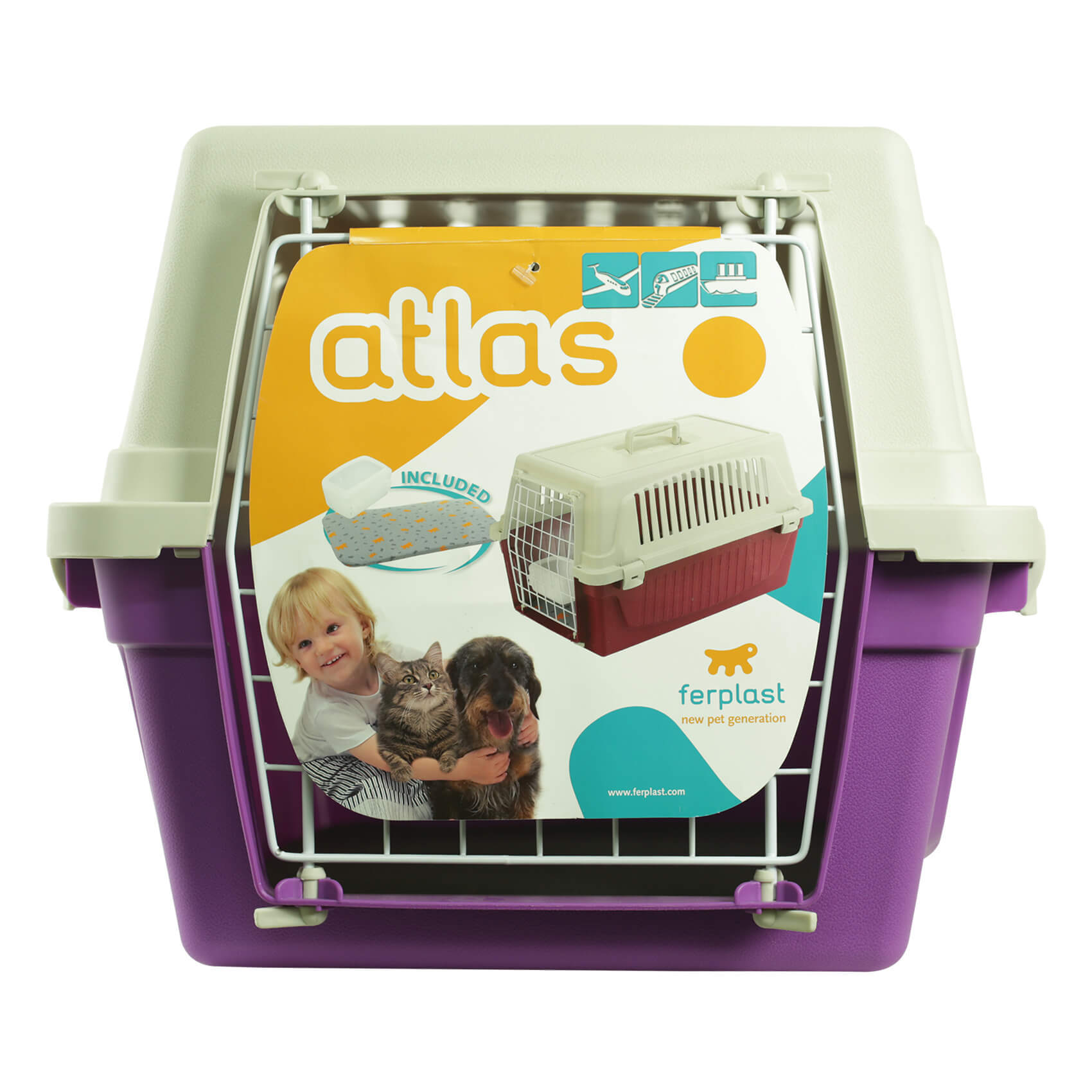 FERPLAST PET CARRIER ATLAS 20 58X37