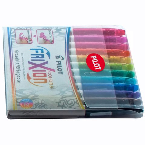 Pilot-Frixion-Coloring-Pen-12Pc-Set