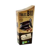Tuiles Bio Chocolat Noir Chevaliers D'Argouges 130GR