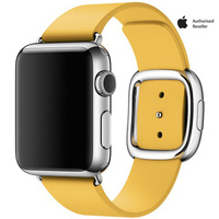 Apple Watch Series 1 38mm Stainless Steel Case with Large Marigold Modern Buckle