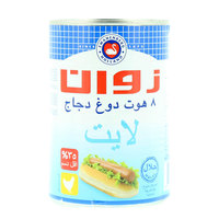 Zwan 8 Chicken Hotdog Sausages 400g