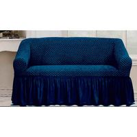 Tendance's Sofa Cover 3 Seater Blue