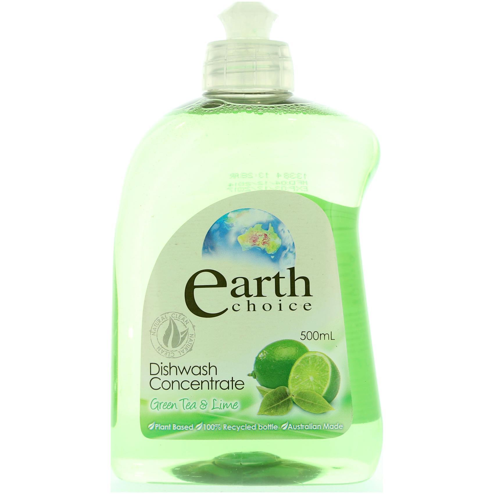 EARTH CHOICE CONC D.WASH LIQ GREEN