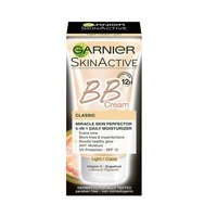 Garnier BB Cream Miracle Skin Perfector 5-IN-1 Daily Moisturizer New Formula 12H - Classic Light 50ML
