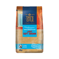 Tate & Lyle Light Soft Brown Cane Sugar 500g