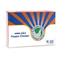 دواجن الوطنية دجاج مجمد 900 جرام × 10