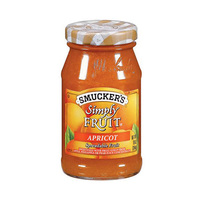 Smucker''s Simply Fruit Apricot 10OZ