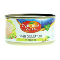 California Garden White Solid Tuna in Olive Oil 185g