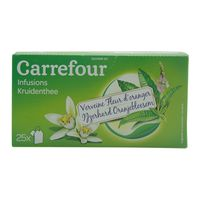 Carrefour Herbal Infusions Verbena Orange Blossom 25 Tea Bags