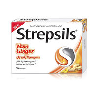 Strepsil Ginger 16 Pieces
