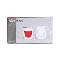 نايس مارك كوب قهوة 80 مل طقم من قطعتين