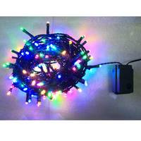 Outdoor Lv Chain Light 240Mult Led 11,95 M- 8 Functions - N150B