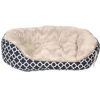Les Filous Blue Oval Basket Large