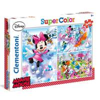 Clementoni puzzle Minnie Sport 3x48pcs
