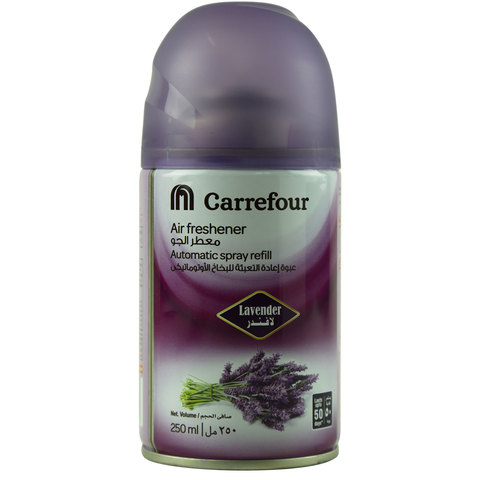 Carrefour-Air-Freshener-Automatic-Spray-Refill-Lavender-250ml