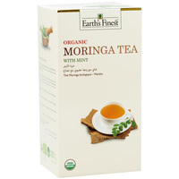 Earth's Finest Organic Moringa Tea Mint 37.5g