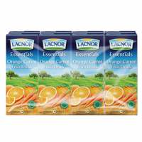 Lacnor Essentials Orange Carrot Fruit Drink 180mlx8