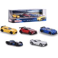 Majorette - Gran Turismo 5pcs Set Gift Pack 1:64
