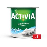 Activia Plain Low Fat 125 g