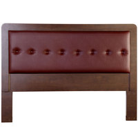 King Koil Headboard York6 Teak Red 160cm + Free Installation