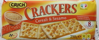 Crich Crackers Cereals & Sesame 250g