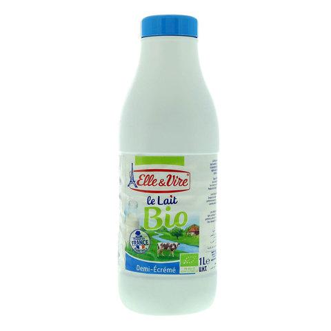 Elle-&-Vire-Semi-Skimmed-Organic-Milk-1L