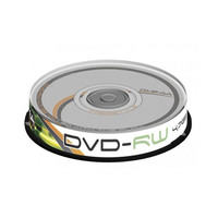 Omega Free Style DVD-RW  4.7go 4x Speed Pack Of 10